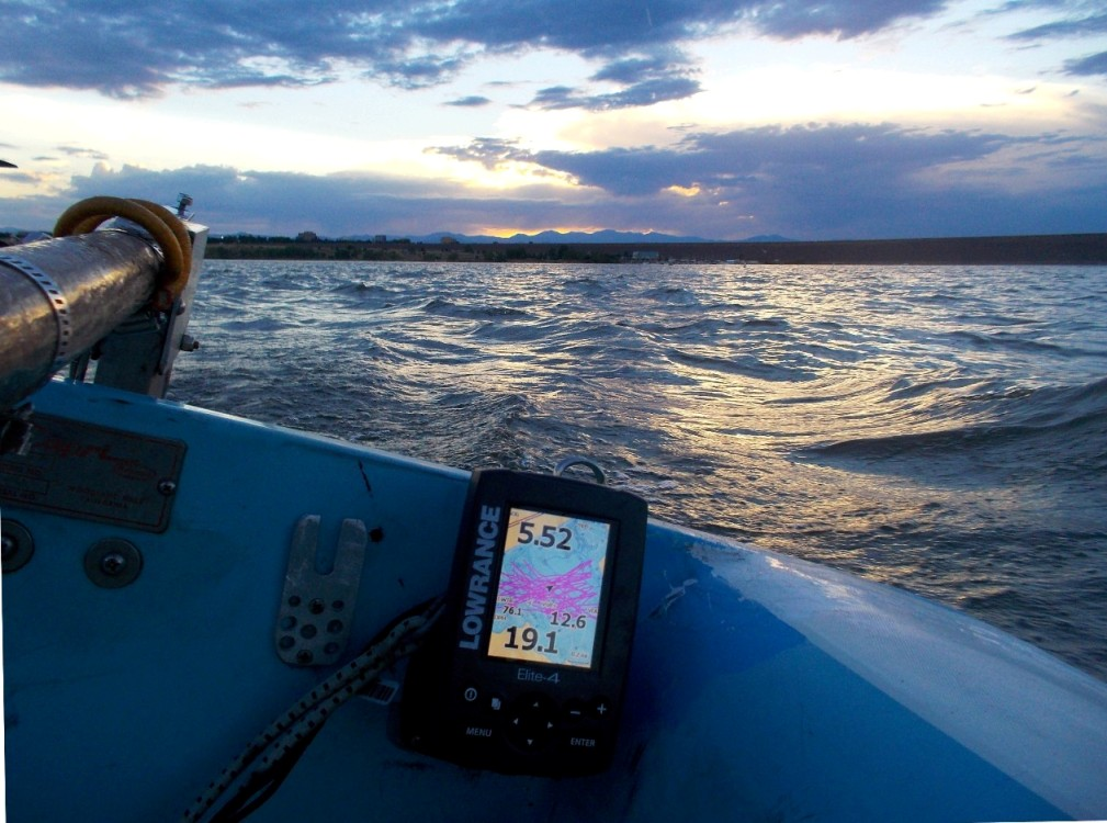 hobie forums • view topic - gps depth finder - lowrance almost has, Fish Finder