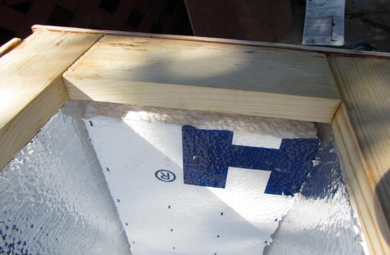 how to make a fiberglass ice chest